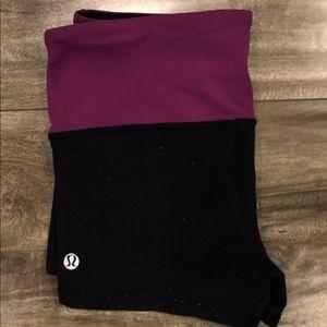 Two tone Lululemon shorts